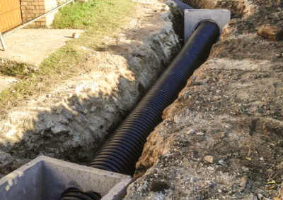 Realizzazione fognature, acquedotti, gasdotti - Cantiere Corbara (2)