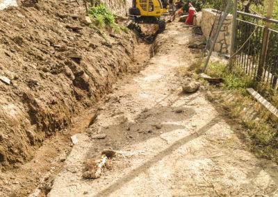 Realizzazione fognature, acquedotti, gasdotti - Cantiere Corbara (4)