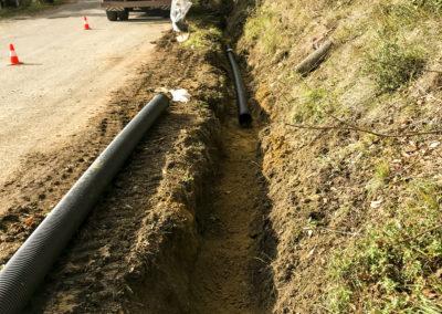 Realizzazione fognature, acquedotti, gasdotti - Cantiere Corbara (6)