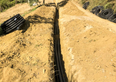 Realizzazione fognature, acquedotti, gasdotti - Ferro (1)